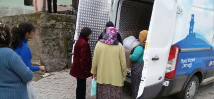 Deniz Feneri Ankara Şubesi Yozgat'ta ihtiyaç Sahiplerine Yardım Dağıttı.