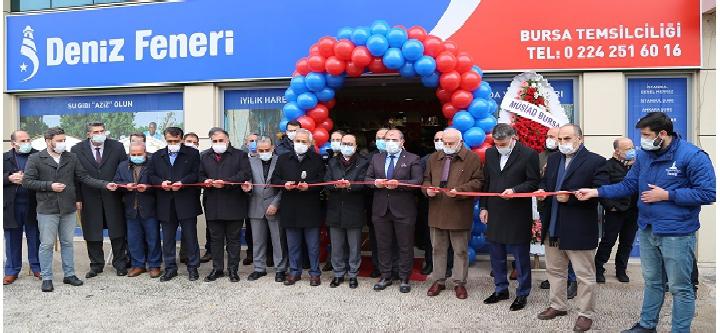 Deniz Feneri Derneği Bursa Temsilciliği Açıldı