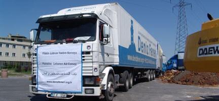 Deniz Feneri Gazze'ye Yardım Götürüyor