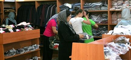 Deniz Feneri Giyim Mağazalarında Bayram Yoğunluğu