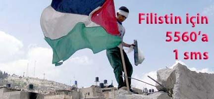 Deniz Feneri'nden Filistin (Gazze) İçin 500 Bin Sms Çağrısı