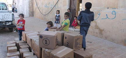 Deniz Feneri'nin Suriye Yardımları Sürüyor