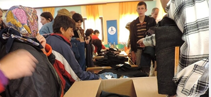 Deniz Feneri Osmanlı Yurdu Bosna Hersek'e 1 Tır Dolusu İnsani Yardım Gönderdi