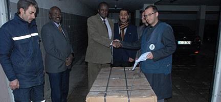 Deniz Feneri Sudanlı Bir Engelliyi Sevindirdi