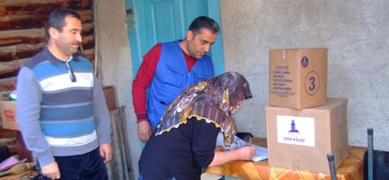 Deniz Feneri Yoksulların İhtiyaçları İçin Kastamonu'daydı