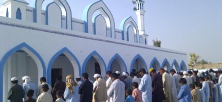 Deniz Feneri'nden Pakistan'a Cami