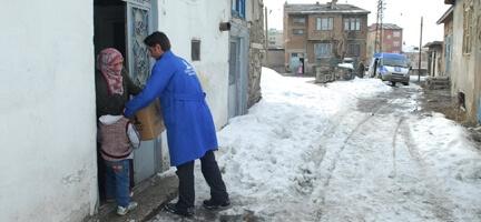 Doğu Anadolu Temsilciliği Kış Yardımları