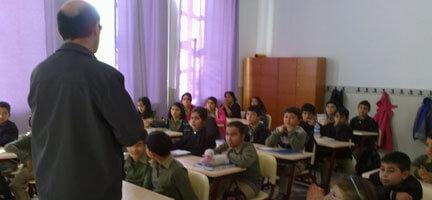 Eğitim Desteklerimiz Ege Bölgesinde Devam Etti
