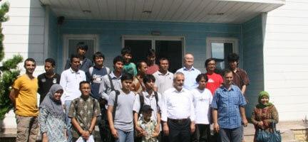 Endonezyalı Öğrencilerden Vefa
