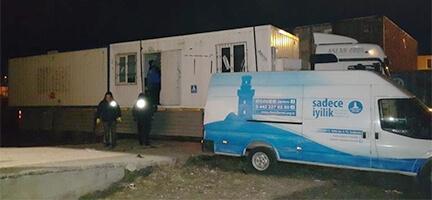 Erzurum'dan Suriyelilere şefkat eli