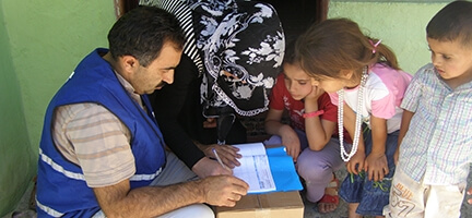 Erzurum'dan Suriyelilere Yardım Eli