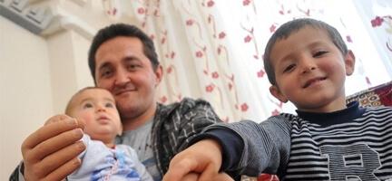 Evladını, 11 Ay Sonra Kucağına Alarak Sevebildi