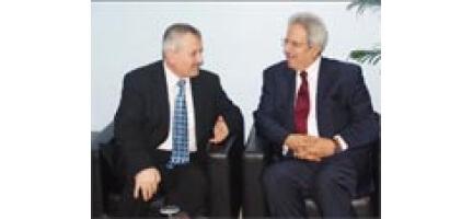 Filistin Büyükelçisi Maarouf'dan Nezaket Ziyareti