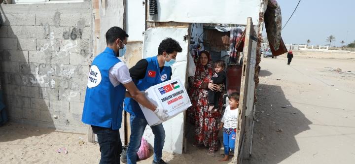 Filistinli Kardeşlerimize Ramazan Yardımı