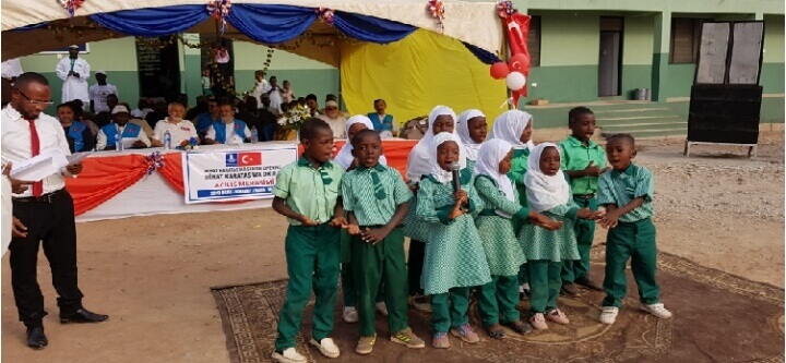 Gana'da 2 Okul Açtık, 1 Okulun da Temelini Attık