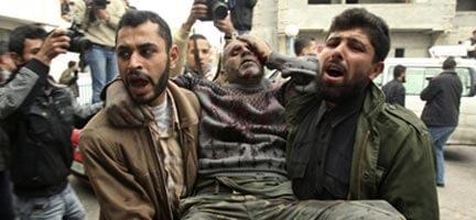 Gazze'de Hava Saldırıları Yoğunlaştı