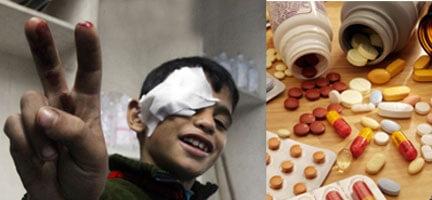 Gazze'ye İlaç Takviyesi