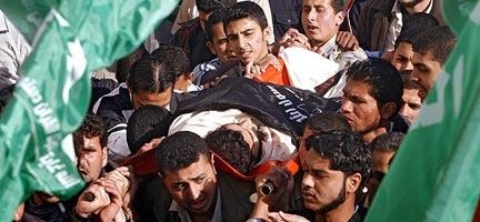 Gazzeliler kelimelerin tükendiği noktada..