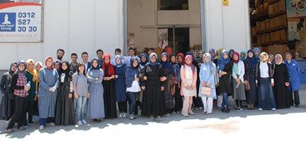 Genç İyilik Grubundan Deniz Feneri Ankara Şubesine Ziyaret