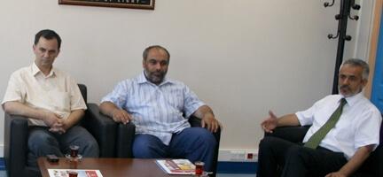 Genel Başkanımıza İHH'dan Tebrik Ziyareti