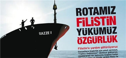 İsrail'den Yardım Gemilerine Kanlı Baskın