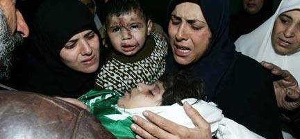 İsrail okul vurdu: 40 ölü