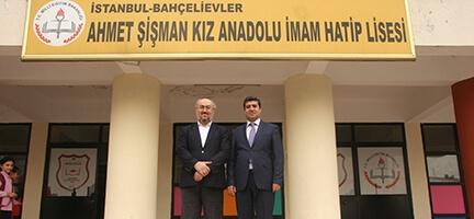 İyiliğin bugünkü adresi Bahçelievler Ahmet Şişman Kız İmam Hatip Lisesi oldu.