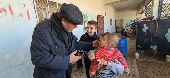 İyilik Elimizi İdlib'e Uzattık