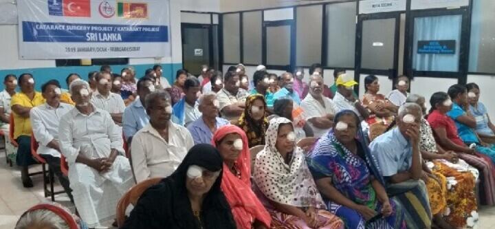 Katarakt Ameliyatları İçin Sri Lanka'daydık