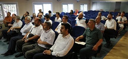 Kurban Gönüllüleri ile toplantı yapıldı