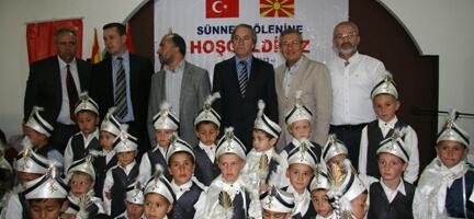 Makedonya'da Toplu Sünnet Organizasyonu Yaptık