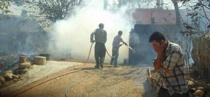 Mersin'deki Yangın 3 Gün Sonra Kontrol Altında
