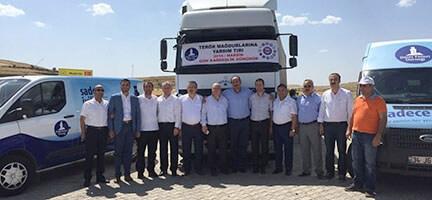 Midyat'taki terör mağdurlarına destek