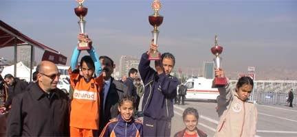 Minik Şampiyonlar Deniz Feneri'nde