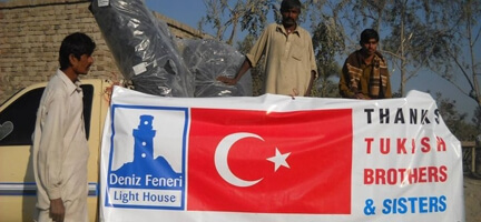 Pakistan'dan Deniz Feneri Konvoyuna Teşekkür