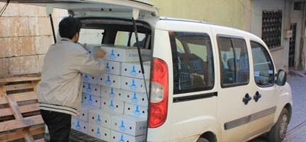 Şanlıurfa'da Bir Günde 2500 Kg. Et Dağıttık