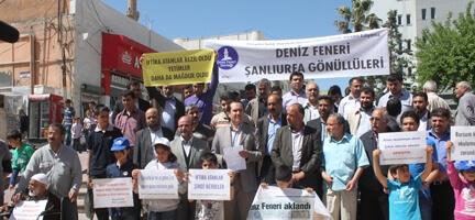 Şanlıurfa Gönüllülerinden Basın Bildirisi
