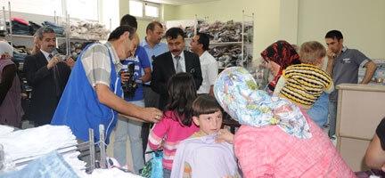 Sivas'ta 1.500 Kişi Sevindirilecek