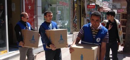 Sivas'ta Yüzler Gülüyor