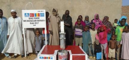SMS Bağışçılarımızın kuyusu ÇAD'da açıldı
