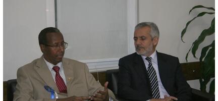Somaliden Misafirlerimiz Vardı