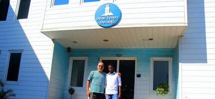 Somalili Öğrenciye Gurbetçiden Eğitim Desteği