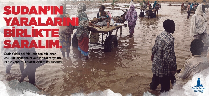 Sudan'ın Yaralarını Birlikte Saralım