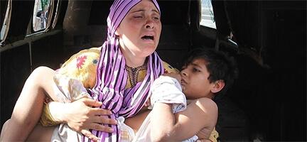 Suriyeli Aileler Yardım Bekliyor