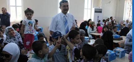 Suriyeli Çocuklara da Bayram Hediyesi