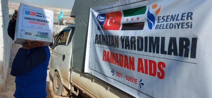Suriyeli Kardeşlerimize Ramazan Yardımları