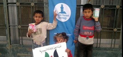 Suriyeli Mazlumlar Yardımlarınızı Bekliyor