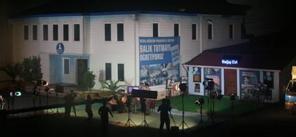 Tempo TV Bu Sahur Deniz Feneri'den Canlı Yayınlandı