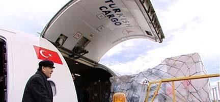Tıbbi Yardım Uçağımız Mısır'a Ulaştı