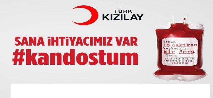 """Türk Kızılay'dan """"Acil Kan İhtiyacı"""" Çağrısı"""